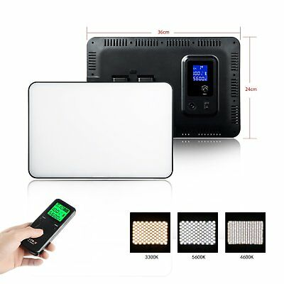 VL-400T Ultra-thin Camera Photography LED Video Light Lamp Panel for CANON NIKON