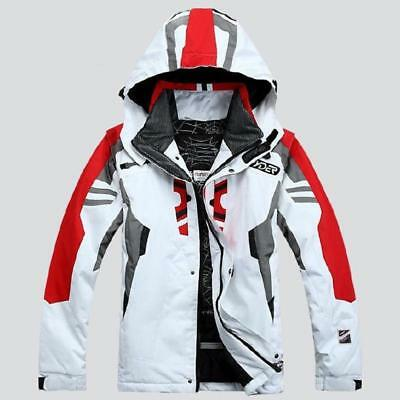 Men's Waterproof Coat Hood Ski Suit Jacket Winter snowboard Pants Sets Outdoor