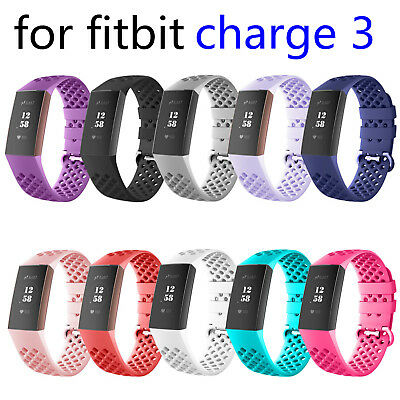 For Fitbit Charge 3 Adjustable Bracelet Strap Replacement Watch Band Wrist Strap