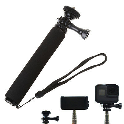 Selfie Handheld Stick Telescoping Camera Monopod Adjustable For GoPro Hero 6/5