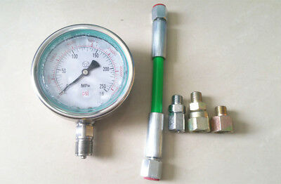 0-250Mpa Common Rail High Pressure tester,diesel oil circuit common rail plunger