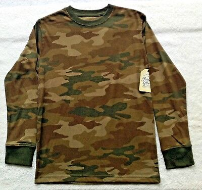 d7503a02 FADED GLORY BOYS Camouflage Long Sleeve TShirt Size Medium (8) NWT Light  Weight - $3.75 | PicClick