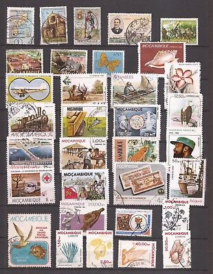 Mosambik  (  Mozambique  )      -  Lot Of Stamps