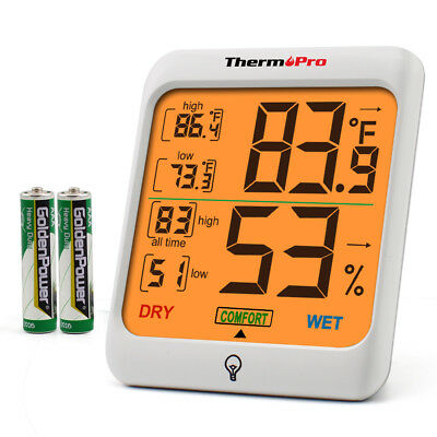 ThermoPro TP-53 Digital Indoor Hygrometer Theremometer Room Humidity Meter