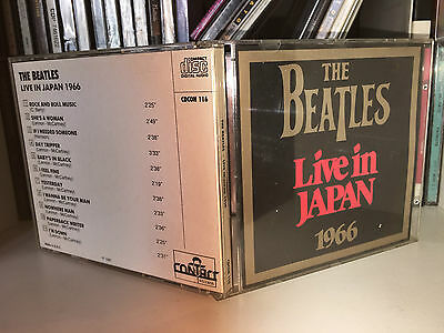 The Beatles Live In Japan 1966 Rare Cd 1987 No Barcode