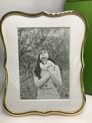 """$60 Kate Spade Crown Point collection gold-plated 5 by 7"""" Frame S1"""