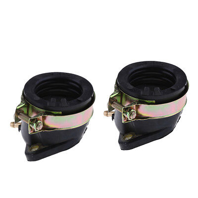 2Pcs 27mm Intake Manifold Pipe Fits For CF250 CN250 Moped 250cc ATV Scooter