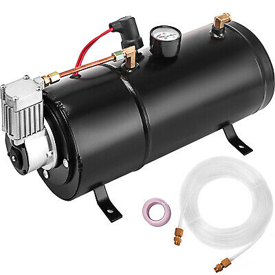 Air Horn Compressor >> 120 Psi 12v Air Horn Compressor Tank Pump Train Auto Car