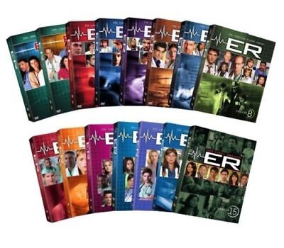 New ER: The Complete Series Seasons 1-15 DVD Box Set, All 331 Episodes Sealed