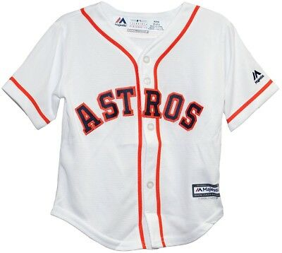 (24 months) - Houston Astros Home Cool Base Infant Jerseys. Majestic Athletic