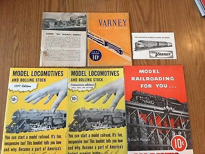 Varney Railway Models Catalogs And Booklets