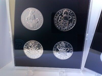 ACRYLIC COIN DISPLAY CASE FOR 5 pounds COINS (coins not included)