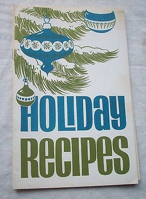 Vintage Holiday Recipes Northern States Power Advertising Paperback English