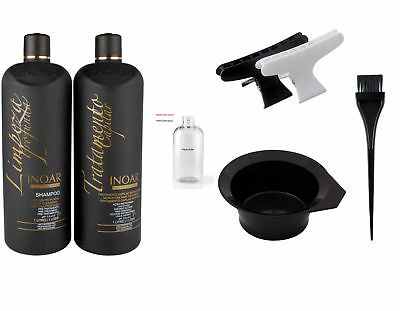 Inoar Moroccan Brazilian Keratin Treatment Blow Dry Hair Straightening Diy Kit