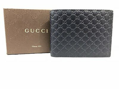 46530d51acec88 BRAND NEW!!!! @@GUCCI* Men's Leather Bifold Wallet free shipping ...