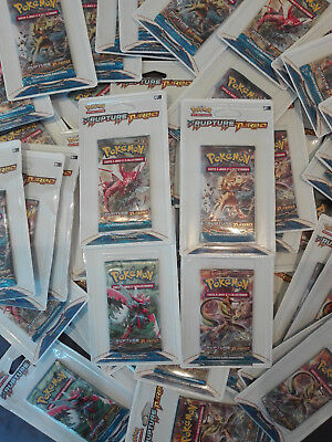 Enorme lot 105 boosters Pokémon XY9 Rupture Turbo
