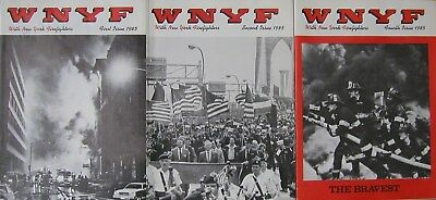 1985 Wnyf 3 New York Firefighters Fdny Magazines