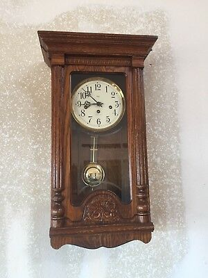 Sligh Wall Clock With Westminster Chimes