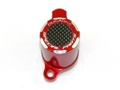 Ducabike Ducati 848 1098 Clutch Slave Cylinder Carbon Inlay - Red