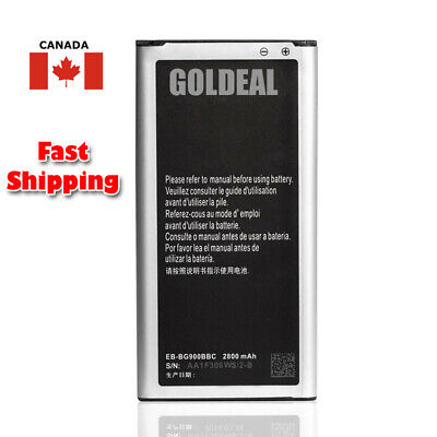 New Replacement Battery For Samsung Galaxy S5 i9600 EB-BG900BBC 2800mAh