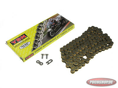 Kette 415-128 YBN Gold Mofa Moped Chain Puch Maxi MV VS Tomos Chain