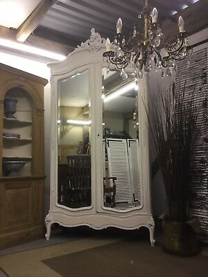 Beautiful Antique Louis xv French Armoire/ Linen Cupboard - Free Delivery!