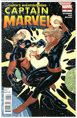 Captain Marvel #6 (2012) NM Terry Dodson Classic Mar-Vell Cover 1st Print Comic