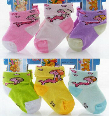 Lote 6 calcetines niños. Winter Autumn Baby Kids Infant Socks. Lot 6 pairs.