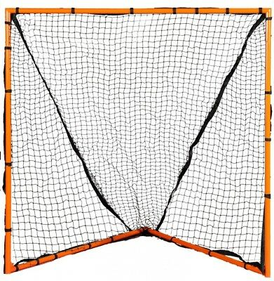 Champion Sports Backyard 4'x4' Lacrosse Goal (Orange). Shipping Included