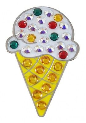 Navika Ice Cream Cone. Crystal Ball Marker with Hat Clip. Navika USA Inc.