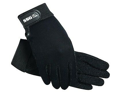 (7, White) - SSG Hook and loop Wrist Gripper Gloves 7 White. Shipping is Free