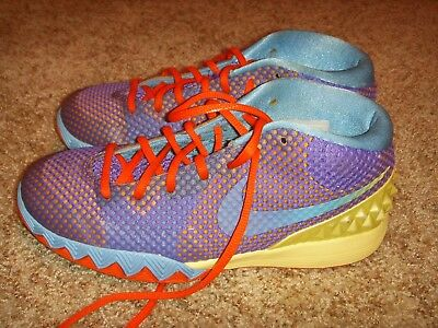 ef01c053995c NIKE KYRIE 1 Lemon Frost Saturdays GS Basketball Shoes Youth Size 7 ...