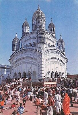 India Temple View Calcutta West Bengal animated