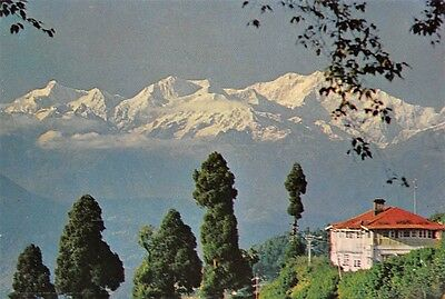 India Mt. Kanchenjunga Darjeeling mountains