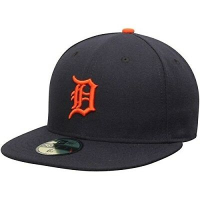 (7 3/8) - New Era Detroit Tigers MLB Authentic Collection 59FIFTY On Field Cap