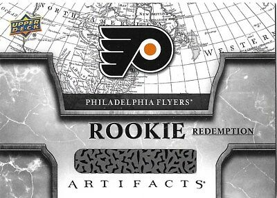 Philadelphia Flyers #RED202 - 2018-19 Artifacts - Rookie Redemptions
