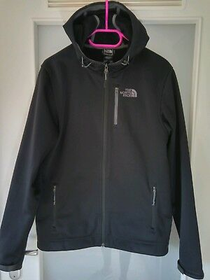 The North Face Durango Herren Jacke Softshelljacke Hoodie Schwarz Gr. S | NP179€