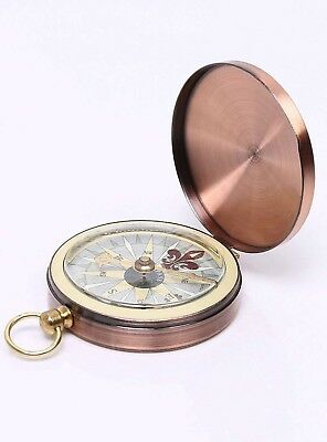(bronze) - MMY-Boussole Outdoor Navigation Portable Pocket Compass for Outdoor