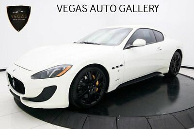 2014 Maserati GranTurismo Sport Alcantara Headliner, Yellow Calipers, & Trident Headrests