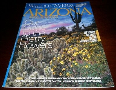 Arizona Highways Magazine back issue March, 2014 Our Guide to the Pretty Flowers