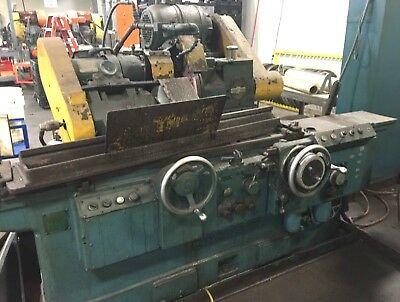 "Cincinnati Ø12"" x 36"" Plain Cylindrical OD GRINDER Just Pulled from Production"