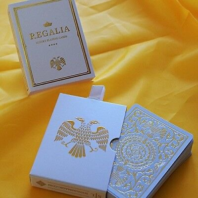 SOLOMAGIA Regalia White Playing Cards by Shin Lim. Shipping is Free