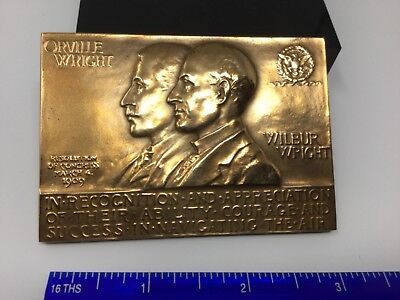 Aviation Collectable Wright Brothers Medal