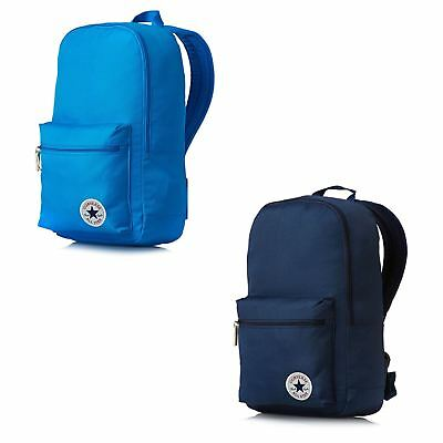 CONVERSE CORE POLY Backpack Rucksack School Bags in Blue   Navy Blue ... a86e17765343e