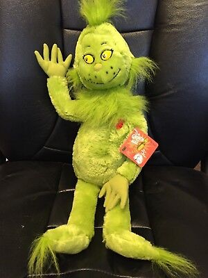 Dr. Seuss The Grinch Plush Kohl's Cares For Kids 22""