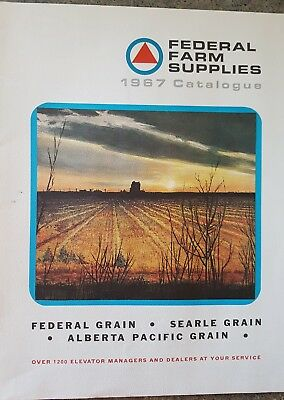 Federal Farm Supplies 1967 Catalog Federal Grain; Searle Grain; AB Pacific Grain