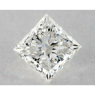 1.00 ct to 5.00 ct White K Color Princess Cut Loose Moissanite Stone For Ring