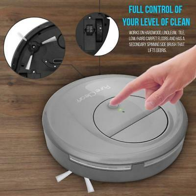 Pyle Pure Clean Automatic Self Navigated Smart Robot Vacuum Sweeper Cleaner