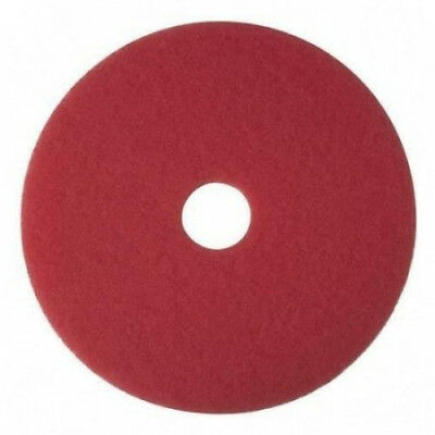 Buffer Pad, Removes Scuff Marks, 16, 5/CT, Red. 3M. Free Shipping