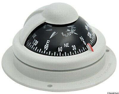 """Comet Boat Marine Compass 2"""" Grey Surface Mount RIVIERA"""
